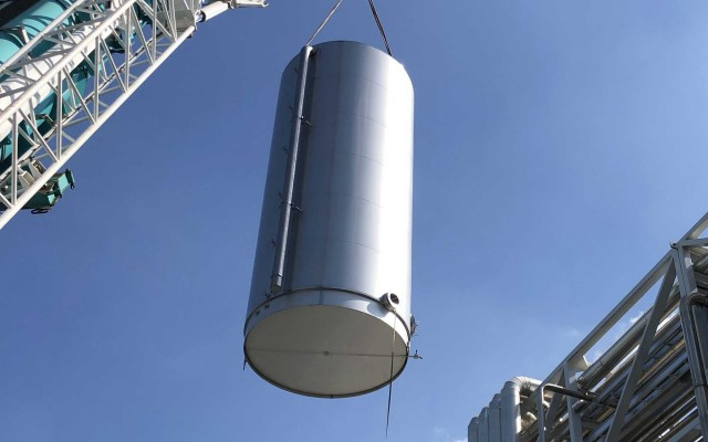 100m³ Chilled Water Tank