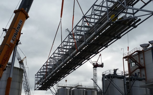 Lichfield - Installation 41.5m Bridge Section