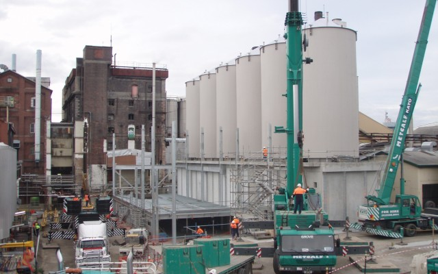 6 Silos installed on Site